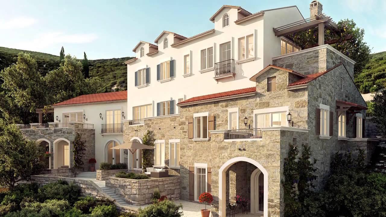 Bates lustica bay resort for Hotel design kotor