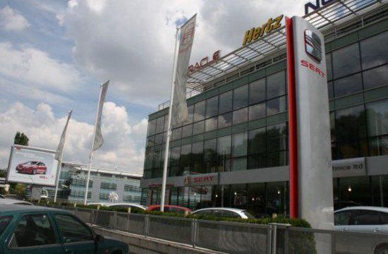 Autotechnica show room in Sofia