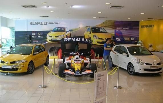 Renault and Dacia centers in Plovdiv.