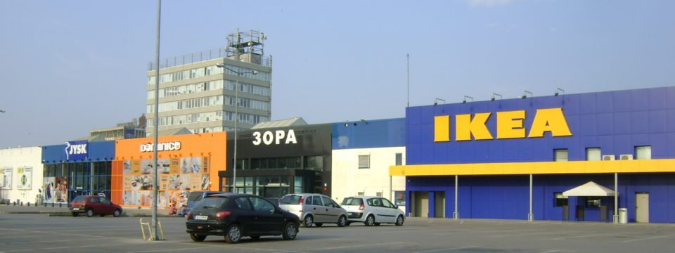 Retail Park Varna Completed